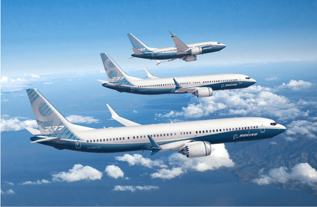 Boeing 737 MAX flyprogram. (Foto: Boeing Commercial Airplanes)