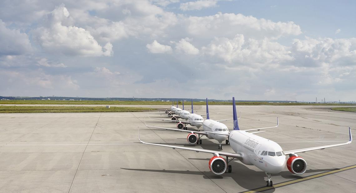 SAS er ved at tage levering af 30 nye A320neo fly. (Foto: Scandinavian Traveller)