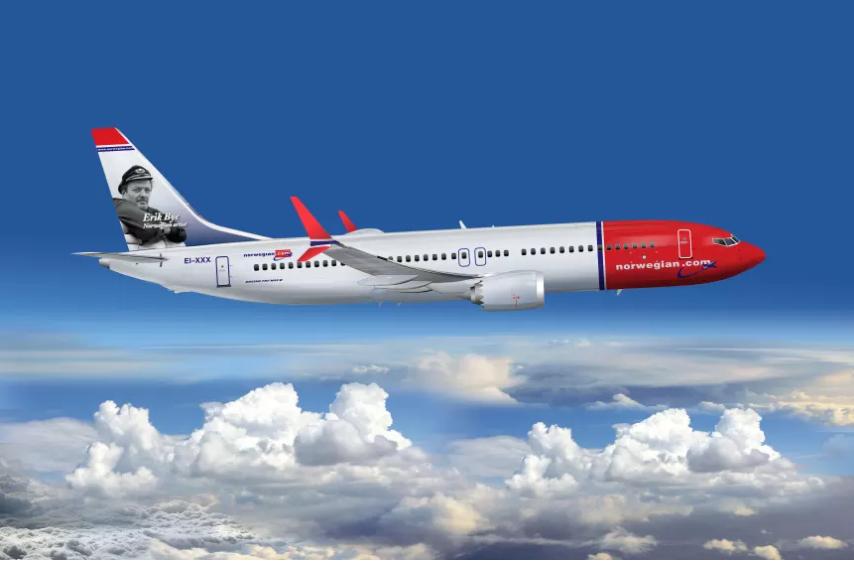Norwegian Boeing 737MAX (Foto: Norwegian)