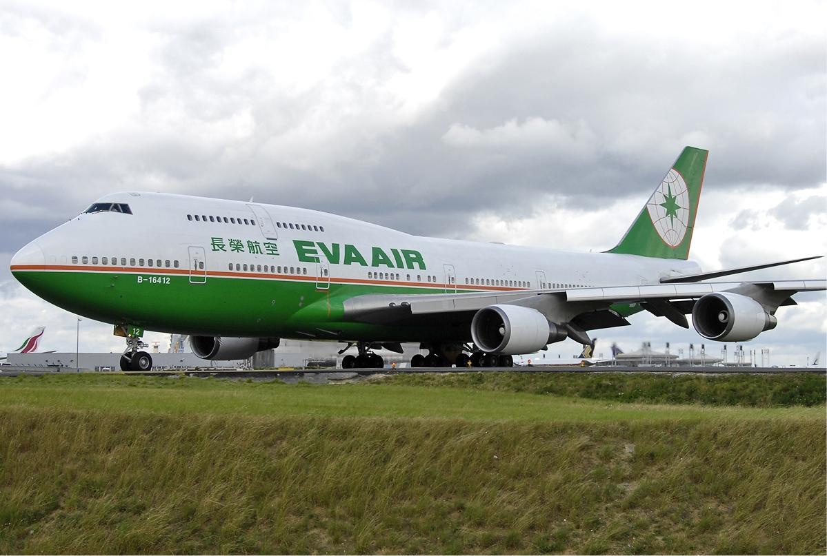 EVA Air Boeing 747-400 (Foto: Aldo Bidini)
