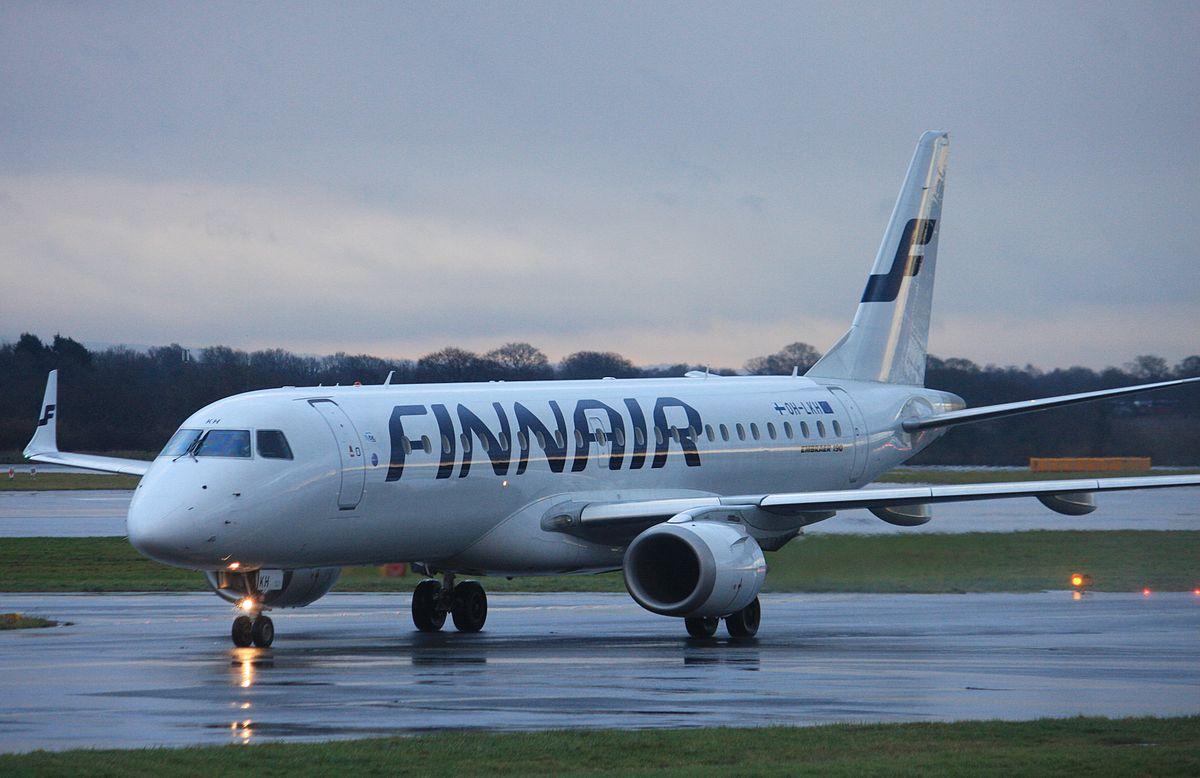 Embraer E190 fra Finnair. (Foto: Andrew Thomas   Creative Commons Attribution)