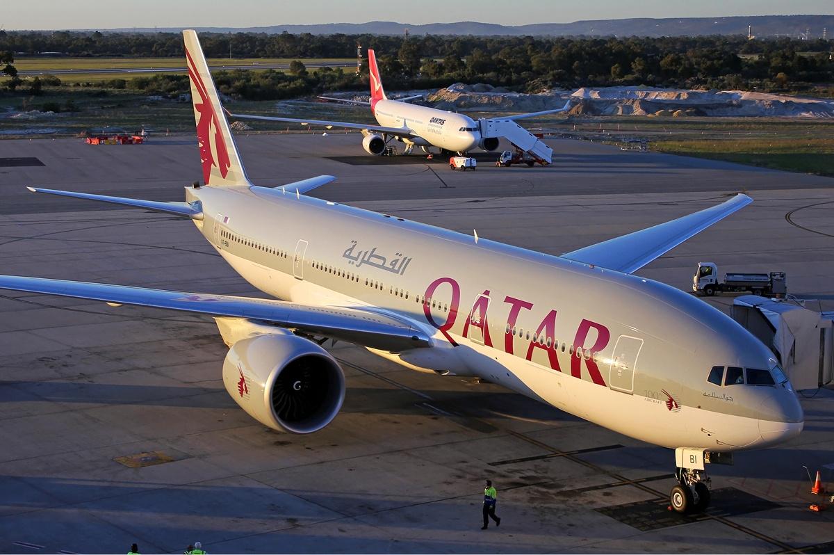 Qatar Airways Boeing 777-200LR (Foto: Darren Koch | GNU Free)