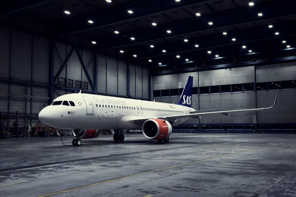 Airbus A320-200neo fra SAS. (Foto: SAS)