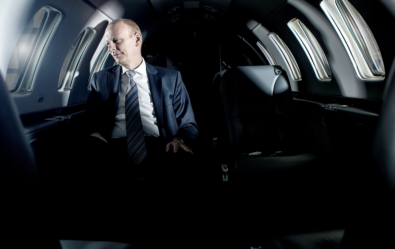 Martin Møller Nielsen, bestyrelsesformand i Nordic Aviation Capital. (Foto: Ole Joern | Redstar)