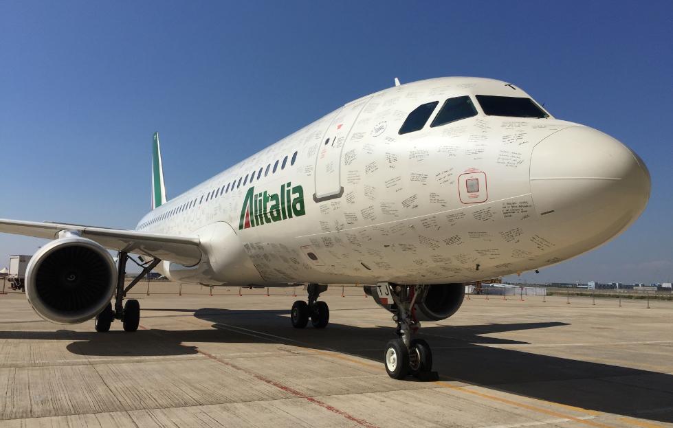 Alitalia A320-200. (Foto: Alitalia)