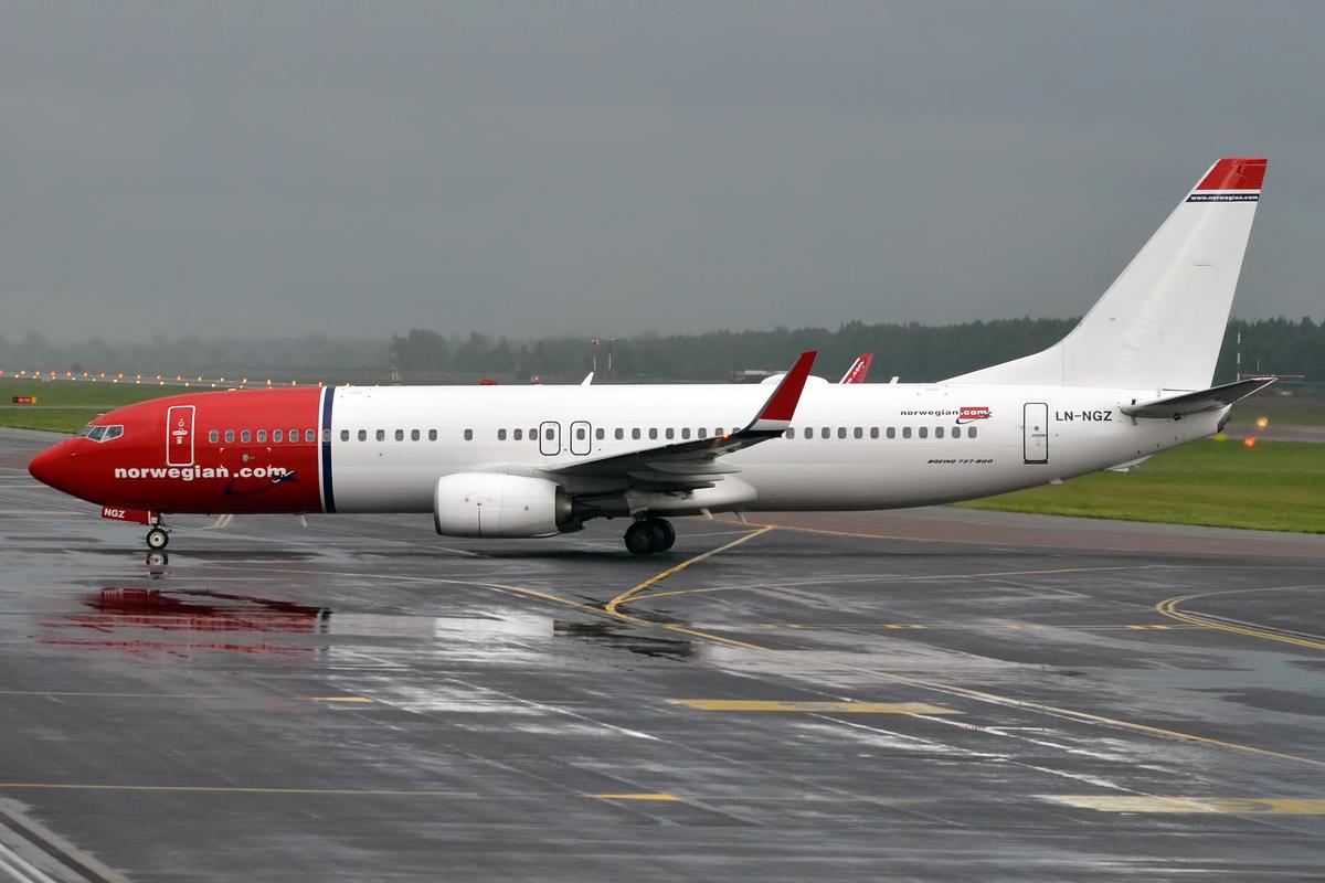 Norwegian-flyet fotograferet i Europa før sin udstationering i Milwaukee. Foto: Anna Zvereva / Wikimedia Commons.