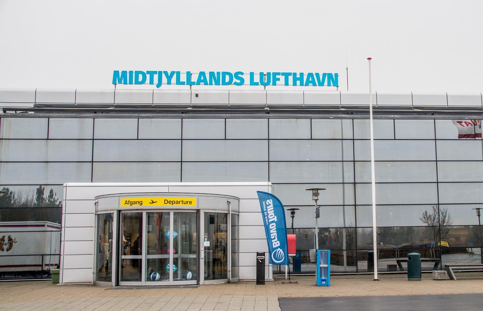 Midtjyllands Lufthavn (Foto: Jan Sand)