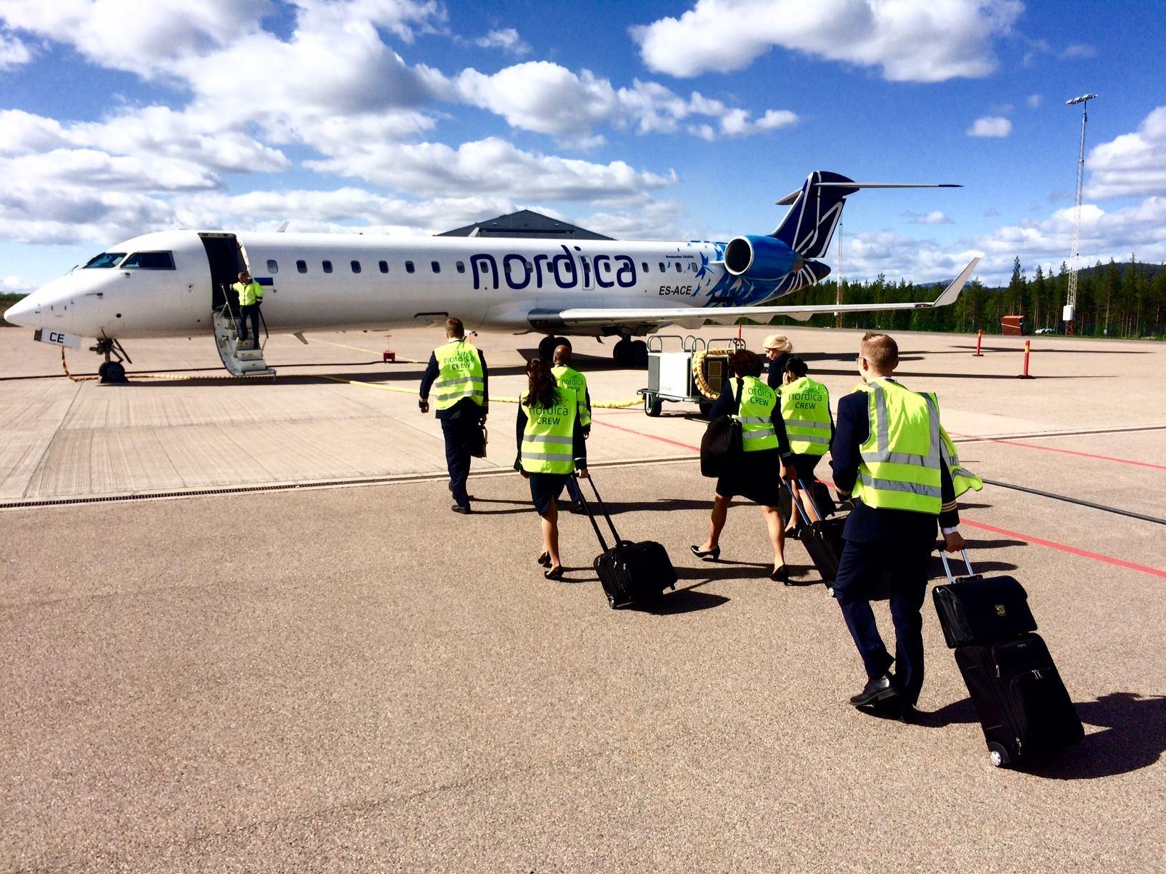 Nordica CRJ900. (Foto: Nordica)