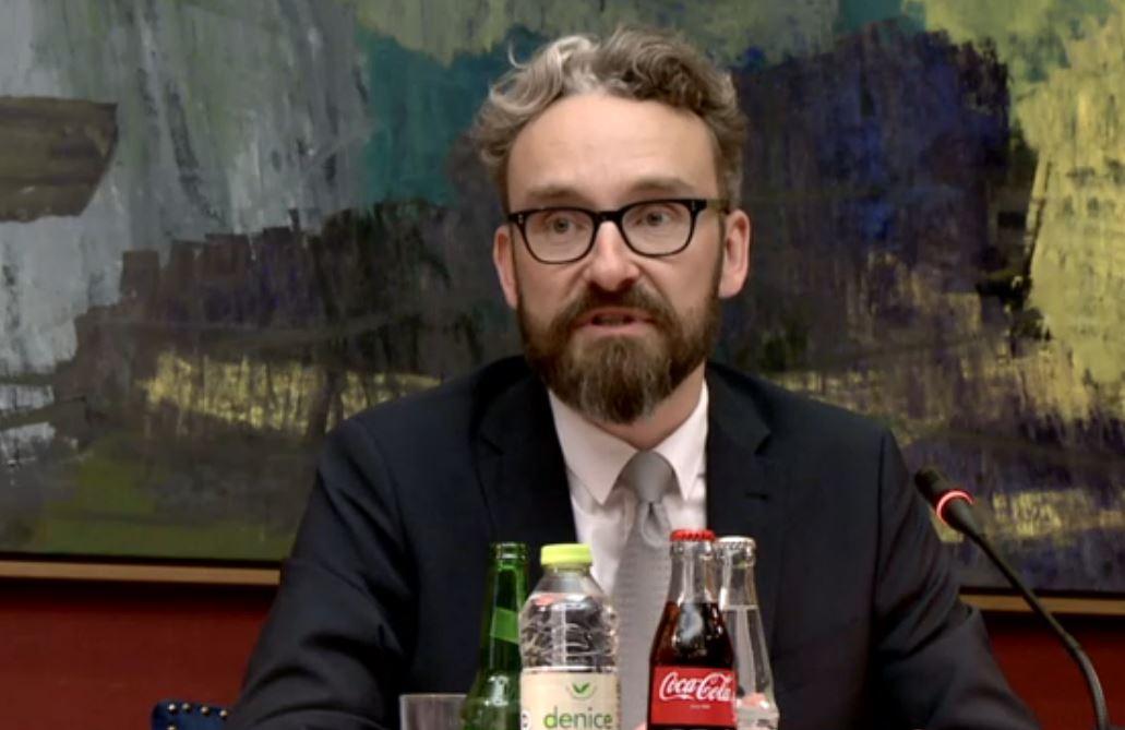 Transportminister Ole Birk Olesen var onsdag i samråd  i Folketingets transportudvalg.