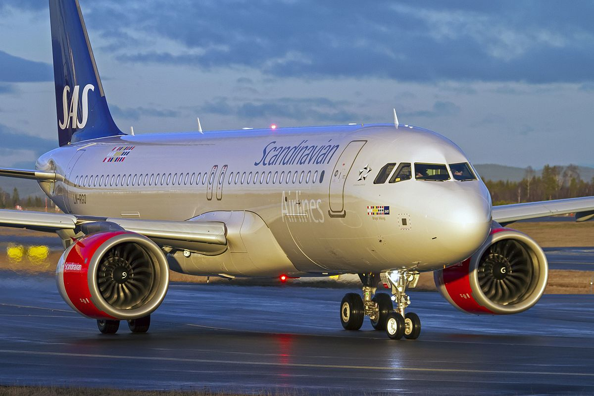 SAS Airbus A320neo. (Foto: Stein Olsen | Creative Commons Attribution-Share Alike 2.0 Generic license.)