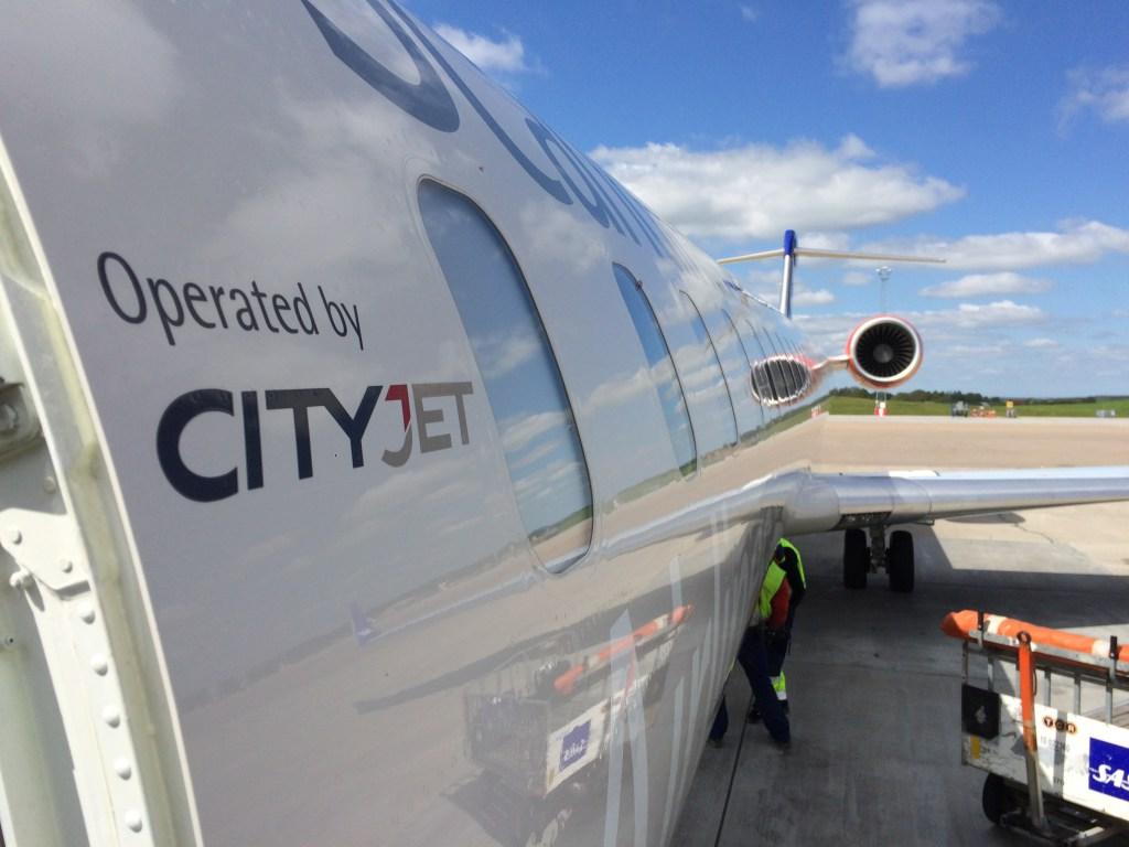 SAS CRJ900 opereret af CityJet. (Foto Charlotte | Readyfortakeoff.se)