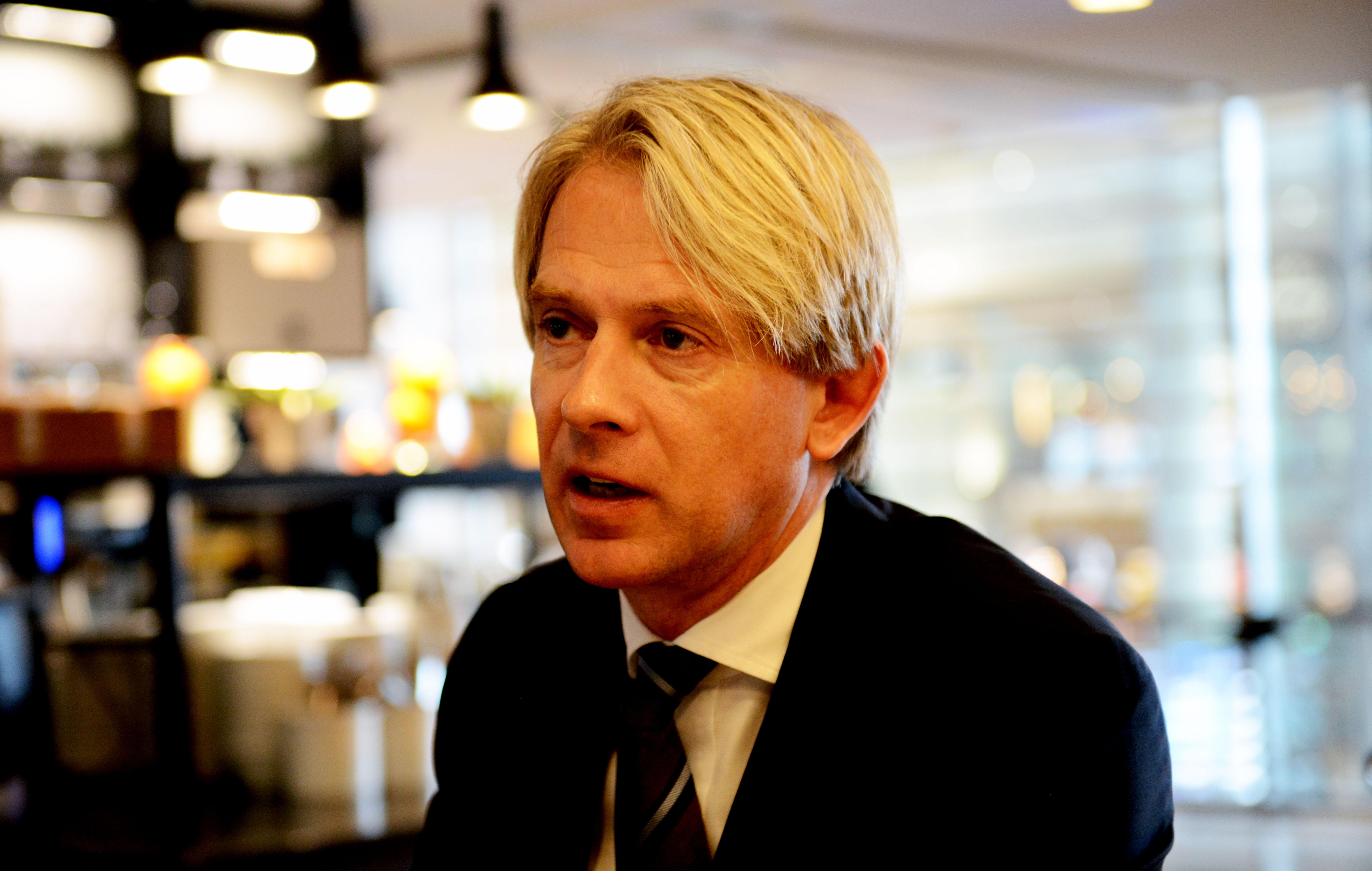 Koncerndirektør i SAS, Eivind Roald. (Foto: Joakim J. Hvistendahl)