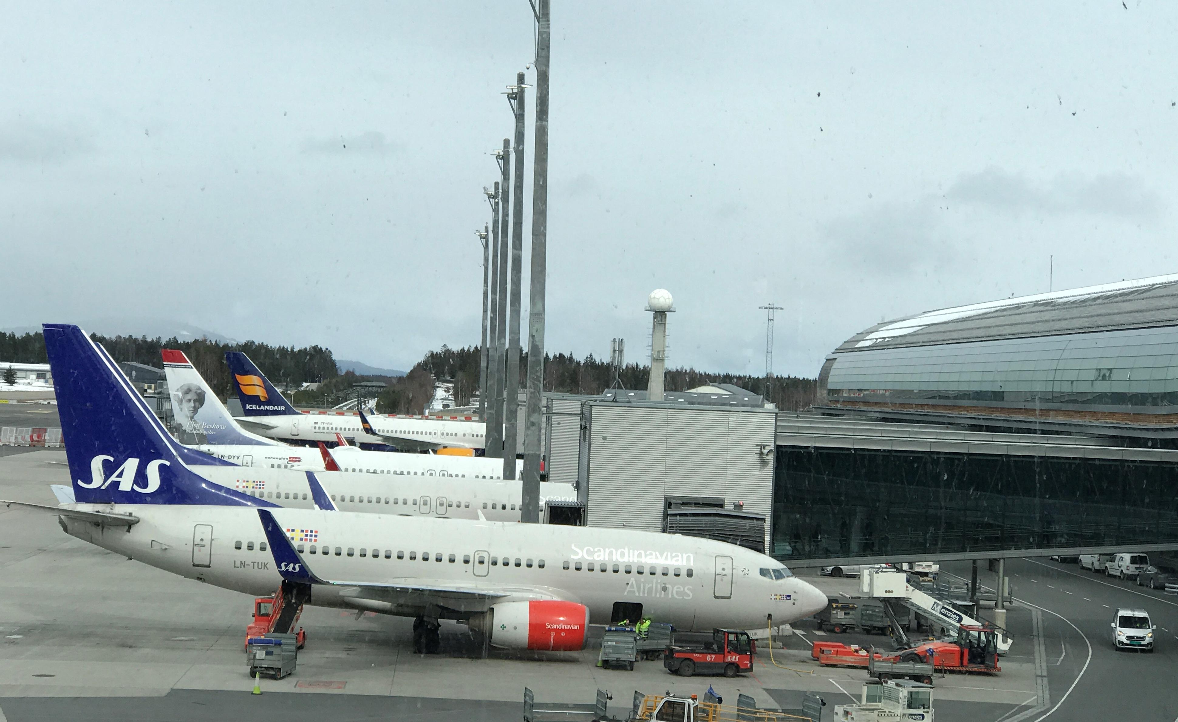 Fly i Oslo Lufthavn (Foto: Ole Kirchert Christensen)