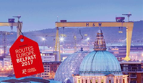 Belfast er vært for Routes Europe 2017. (Foto: Routes Online)