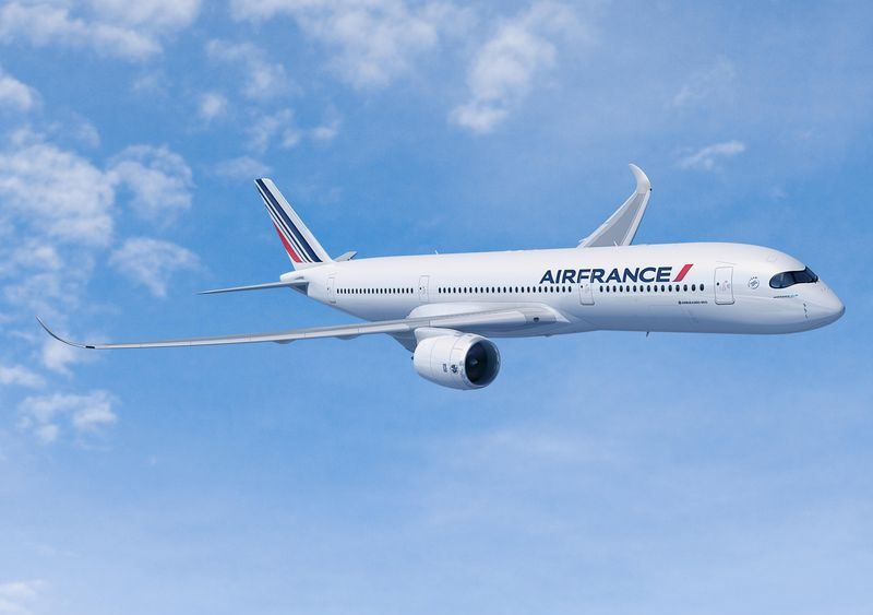 Air France A350-900. (Grafik: FIXION | Airbus )