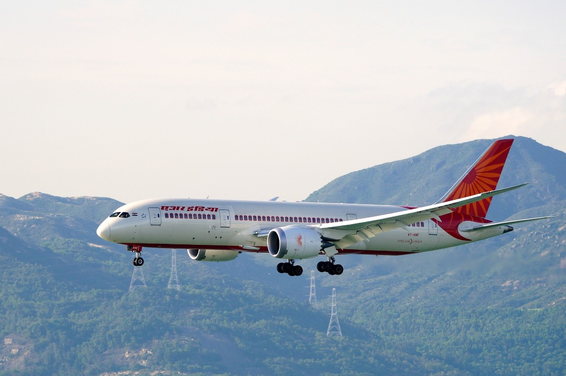 Air India Boeing 787-8 Dreamliner (Foto: Air India | @tamkw)