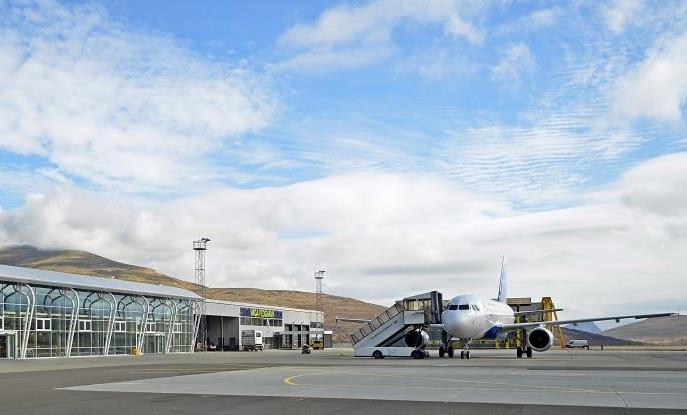 Vagar Lufthavn – airside området.  (Foto: Vágar Lufthavn)