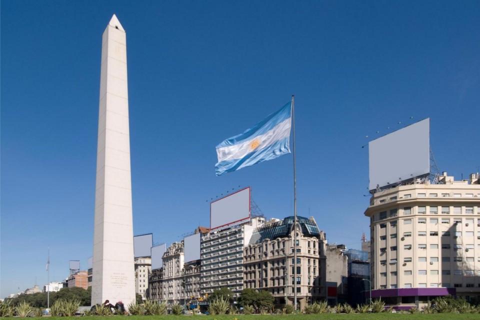 Obelisken i den argentinske hovedstad Buenos Aires.
