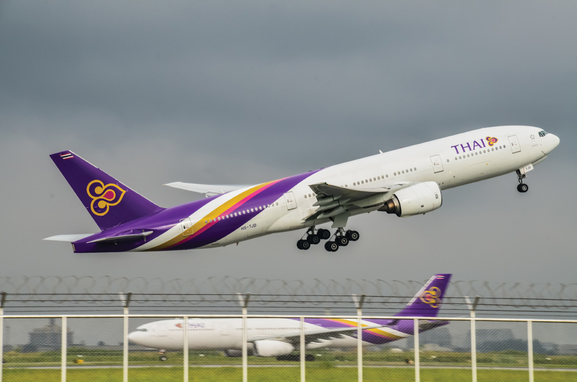 Fly fra Thai Airways (Foto: CAAi)