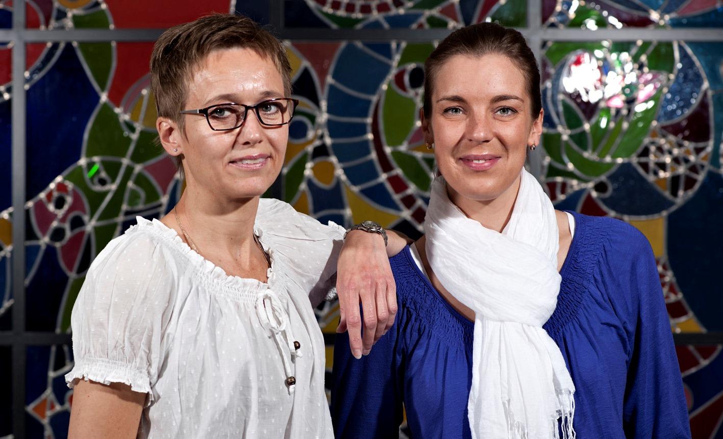 Bodil Bach (t.v.) og Kristiina Tejsner. (Arkivoto: Lars Holm)