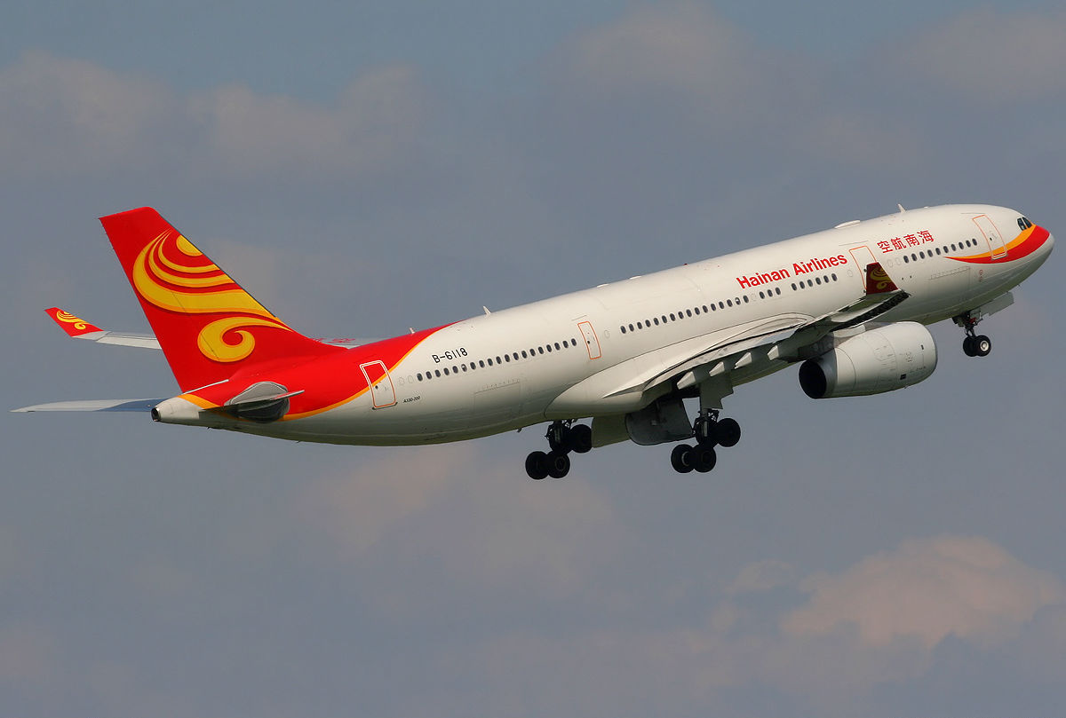 Hainan Airlines Airbus A330-200. (Foto: Paul Spijkers)