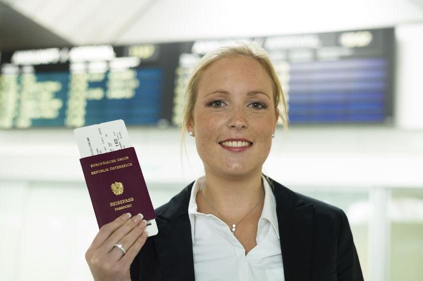 Passet skal altid med ved rejser i EU (Arkivfoto: Gina Sanders | 123RF Stock Photo)