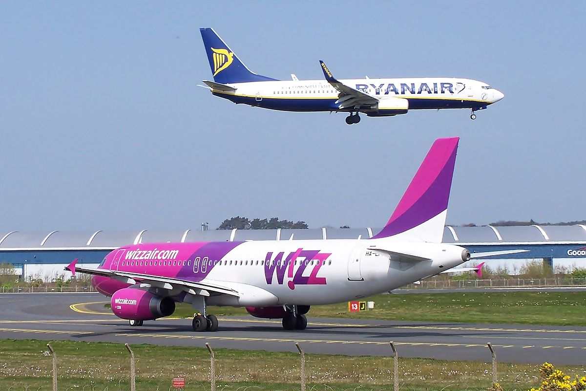 Fly fra Ryanair og Wizz Air (foto: Mark Harkin | Creative Commons Attribution 2.0 Generic license.)