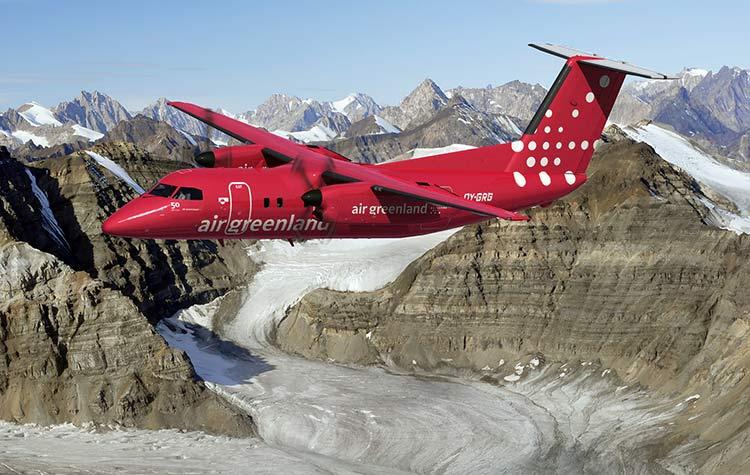 Air Greenland Dash 8-200. (Foto: Air Greenland)