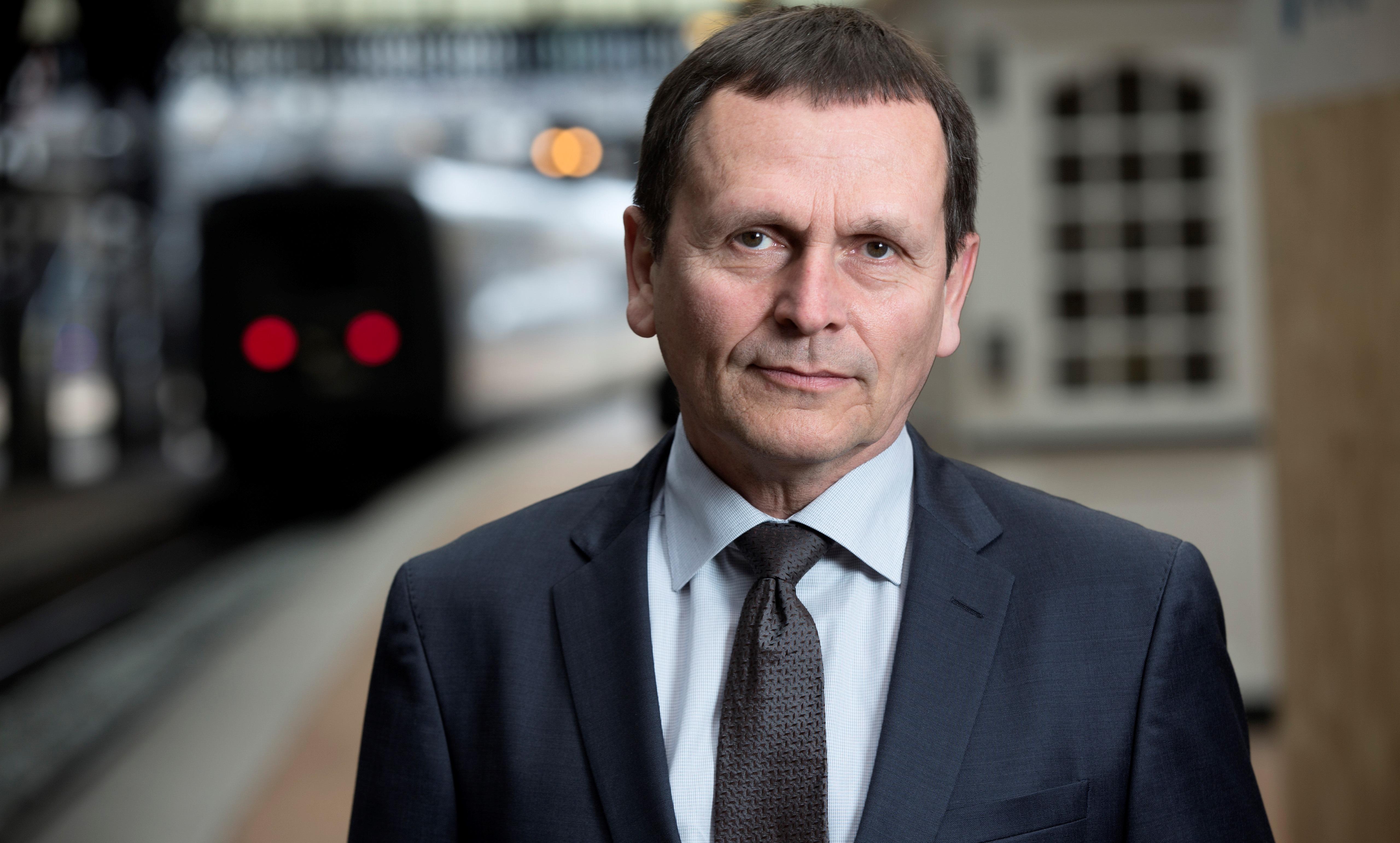 Adm. direktør Flemming Jensen, DSB (Foto: Klaus Holsting)