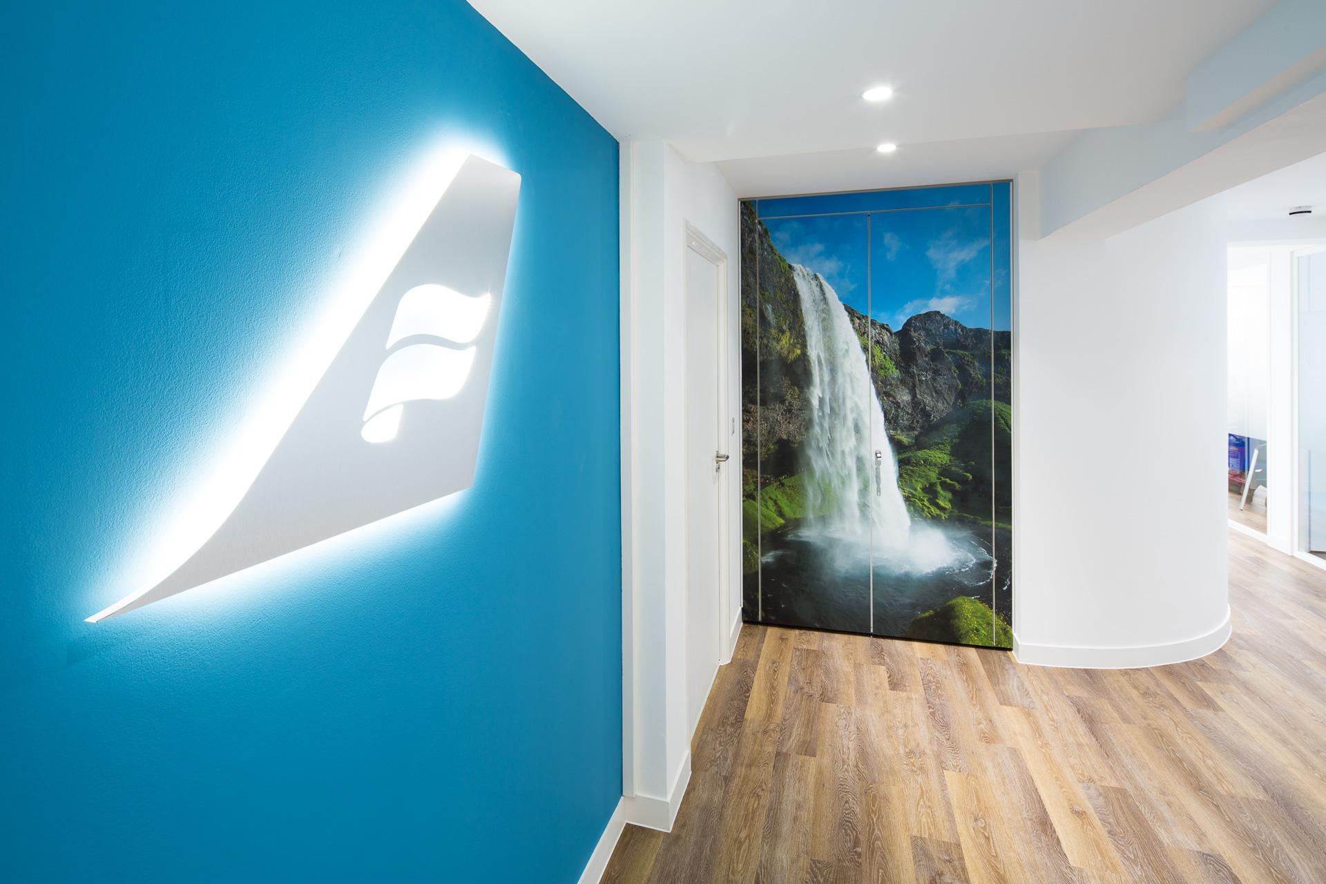 Icelandair-kontoret i London. (Foto: Office Profile)