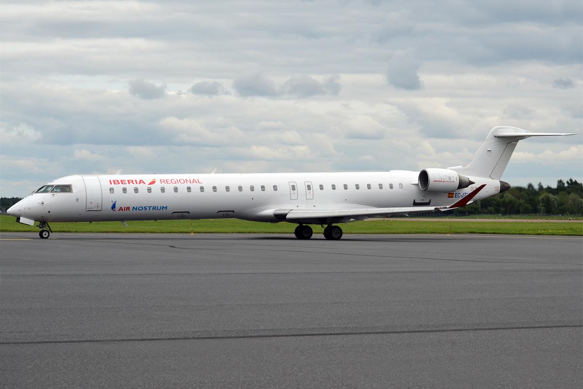 Air Nostrum Bombardier CRJ900 (Foto: Anna Zvereva)