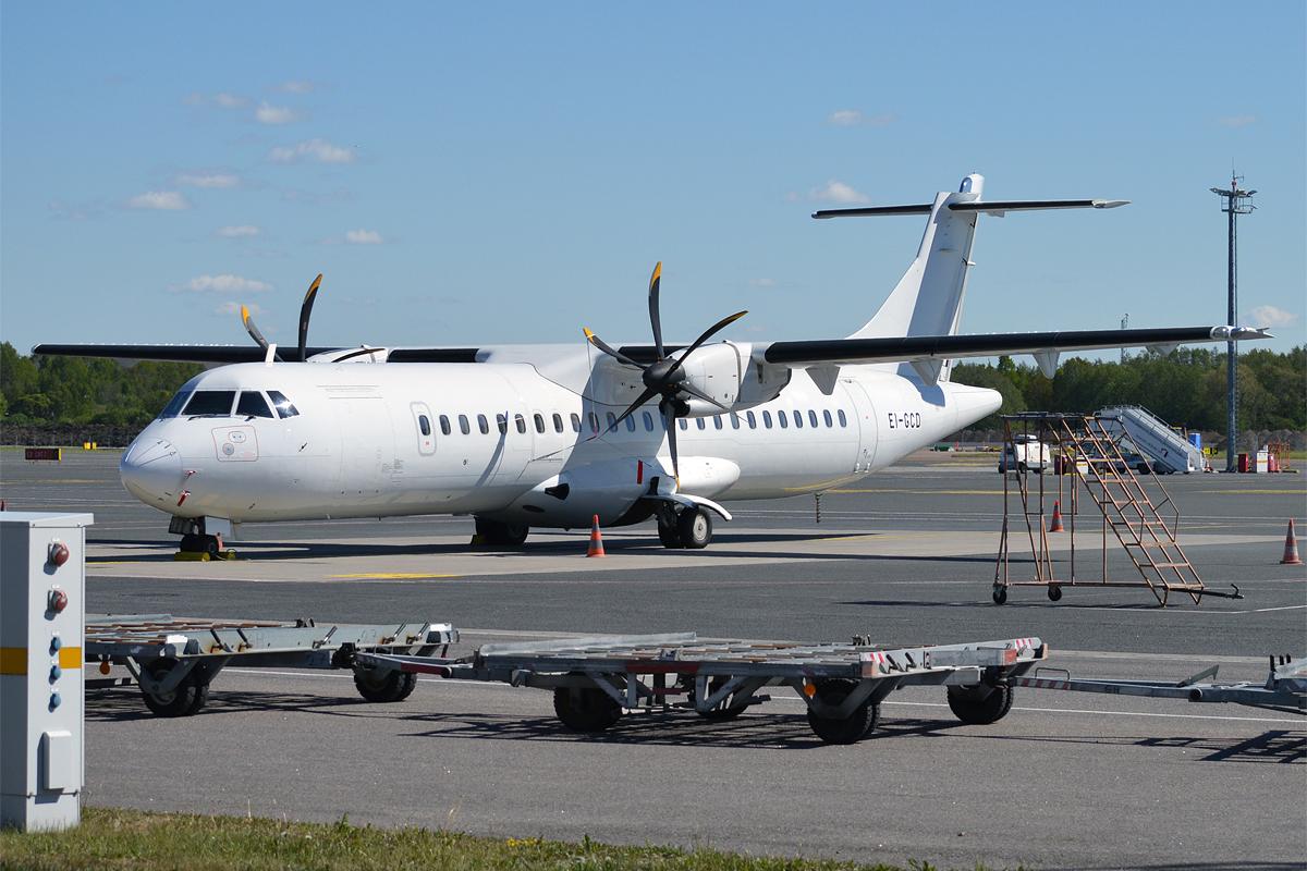 Dette ATR72-600 fly bliver et af de første, som Regional Jet kommer til at operere for SAS. (Foto: Anna Zvereva)