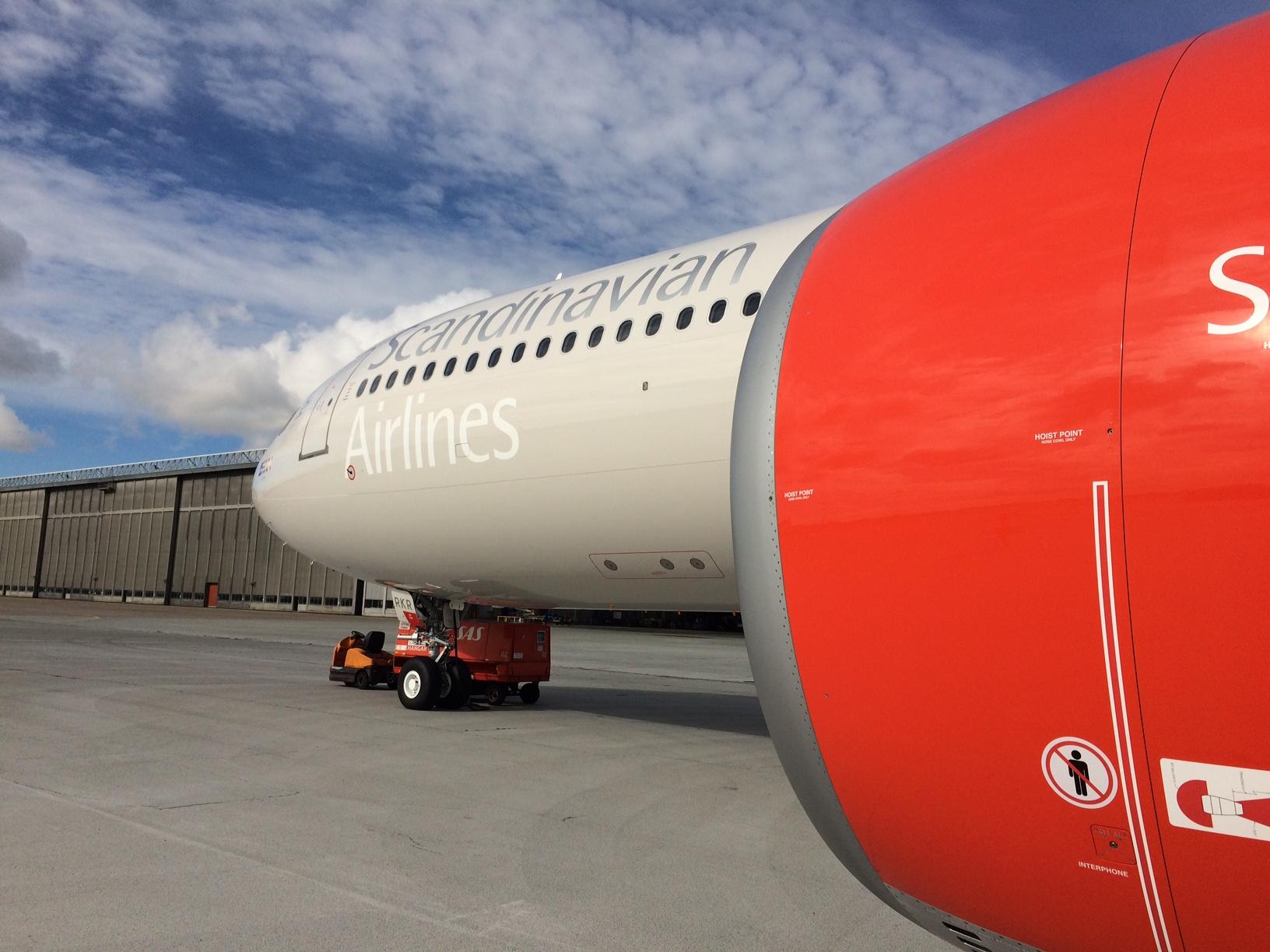 SAS Tore Viking – Airbus A330-300 i Københavns Lufthavn (Foto: Ole Kirchert Christensen)