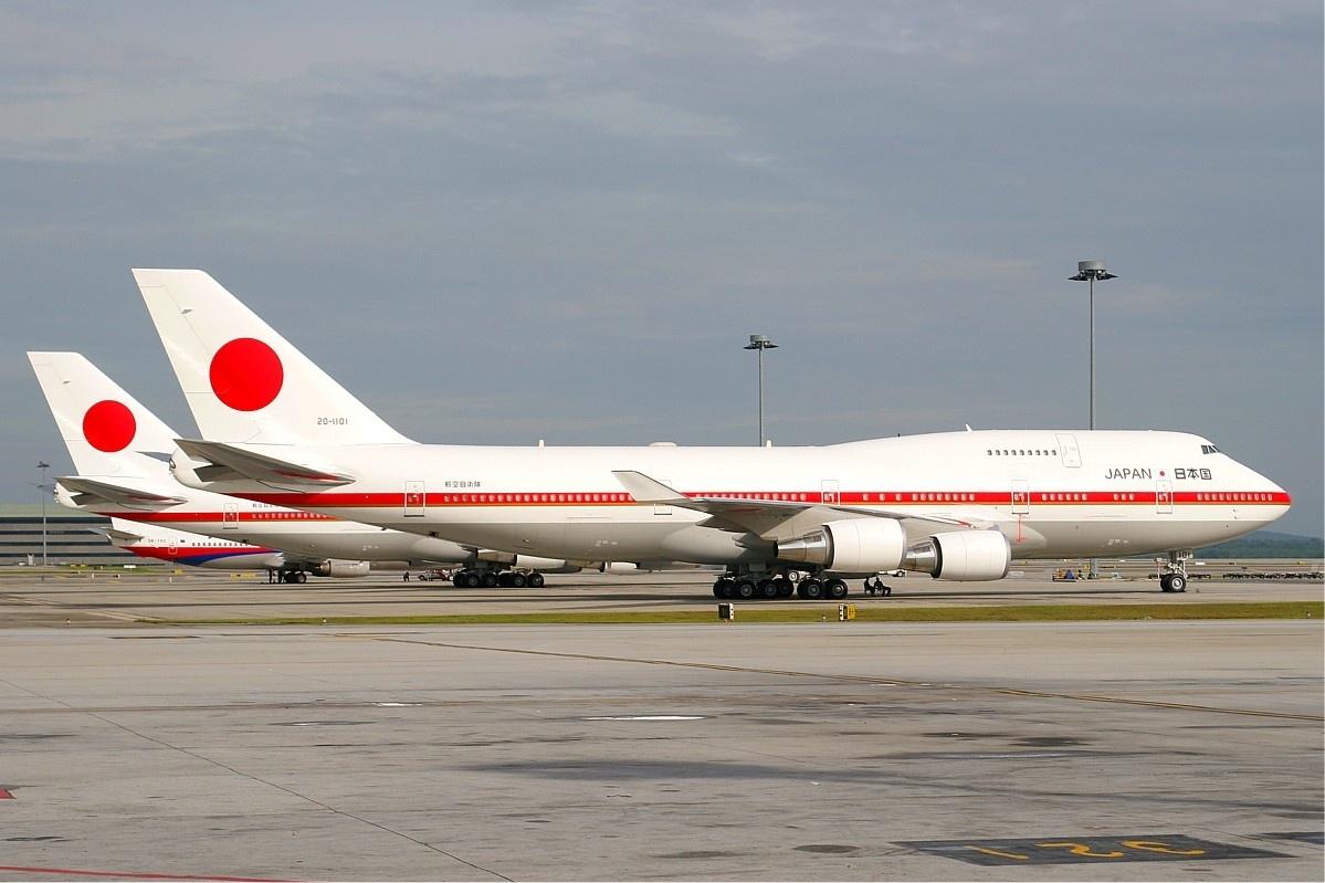 Japans to regeringsfly ved et tidligere statsbesøg i Kuala Lumpur. (Arkivfoto: M Radzi Desa | GNU Free Documentation License 1.2)