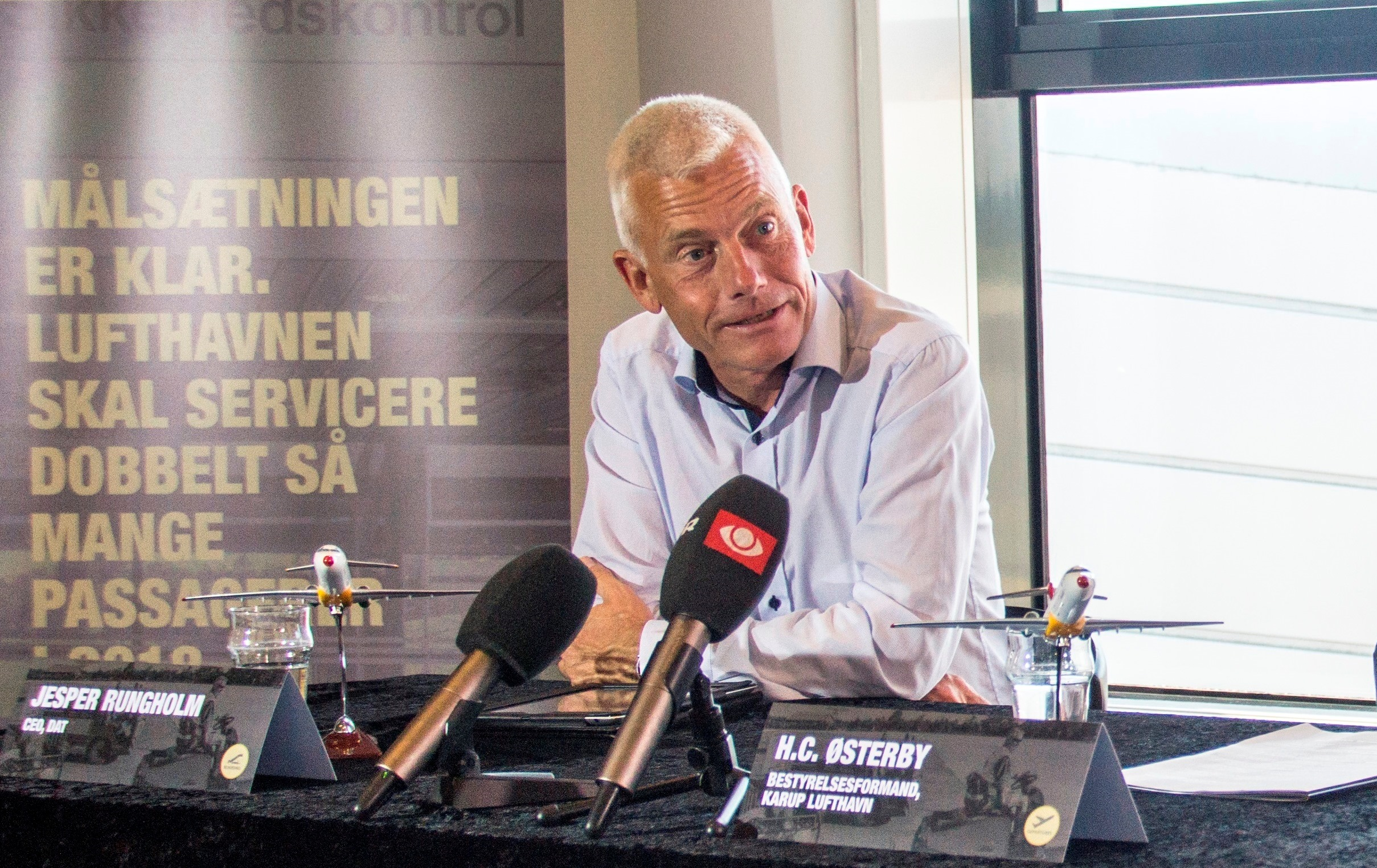 Jesper Rungholm, administrerende direktør i Danish Air Transport. (Arkivfoto: Jan Sand Photo)