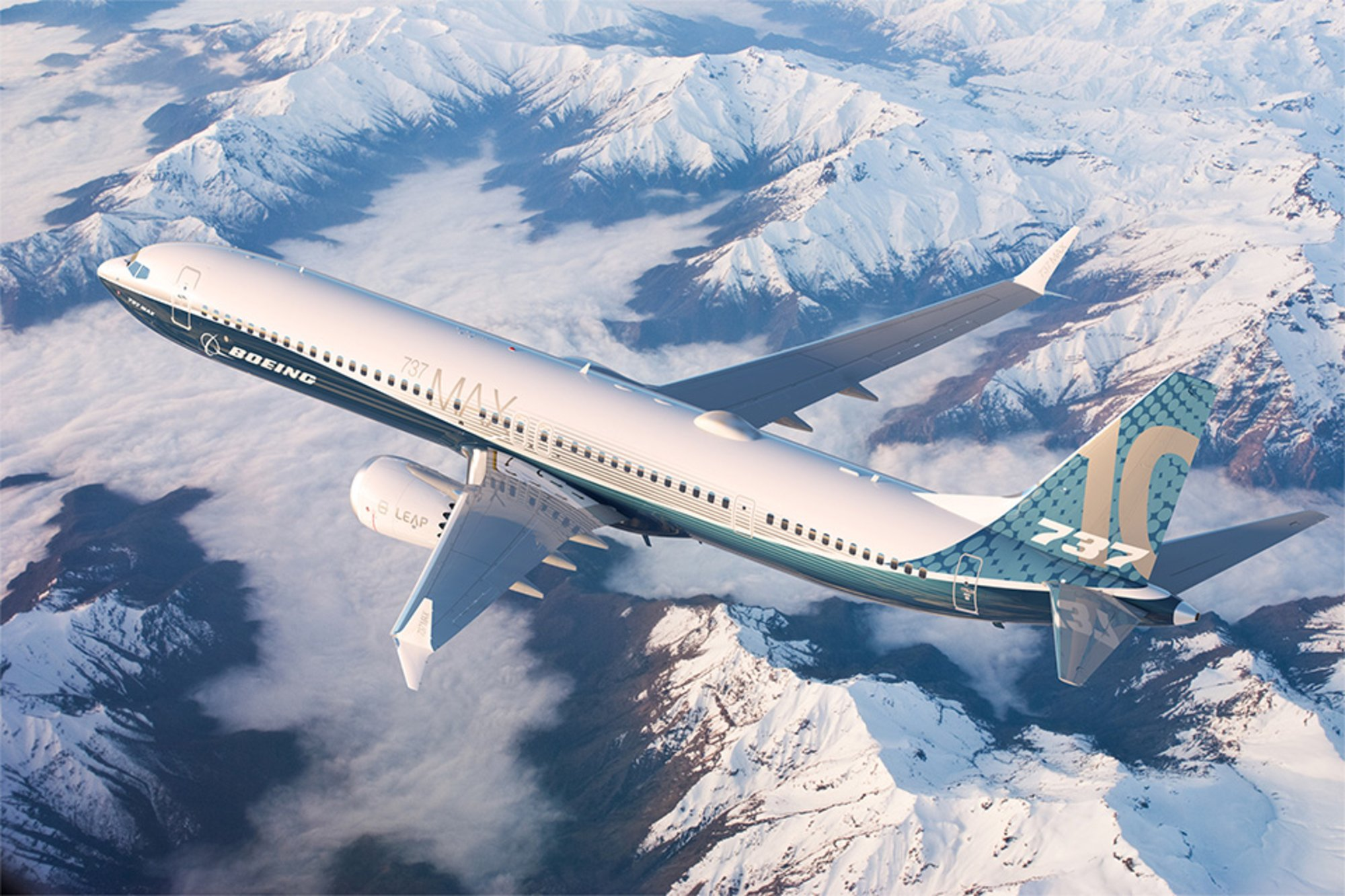 Boeing 737 MAX10 (Foto: Boeing Commercial Airplanes)