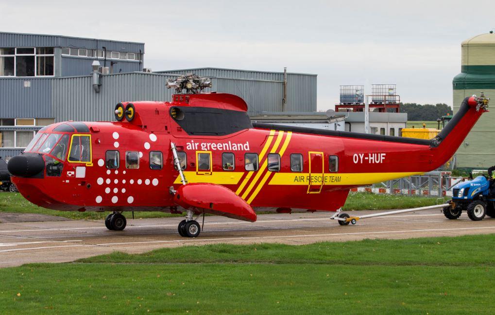OY-HUF på vej til Grønland i 2015. Foto: Flickr.