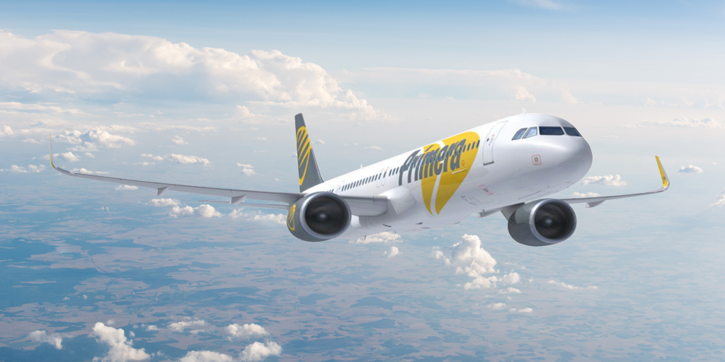 Primera Air får i 2018 otte Airbus A321-fly på dansk register. (Foto: Primera Air)