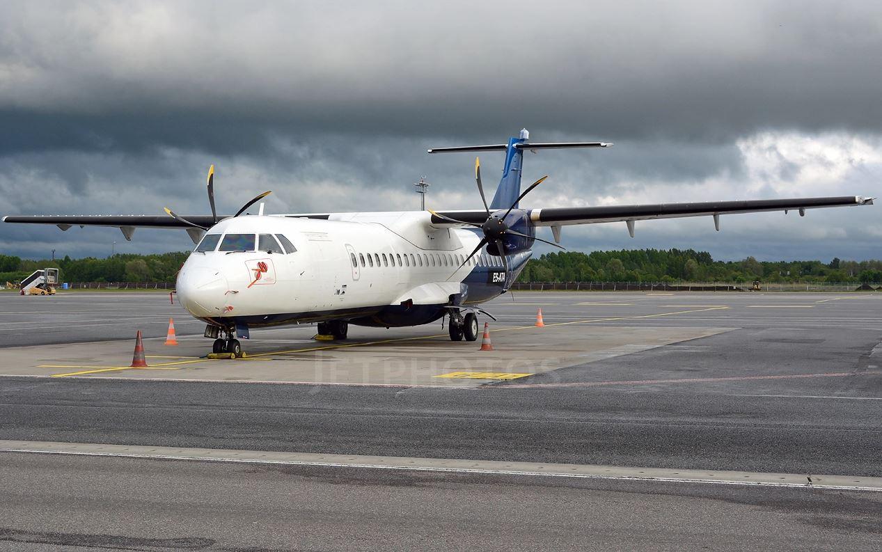 Et af de ATR-fly, som Regional Jet vil bruge i sine SAS-operationer. Foto: Jevgeni Ivanov