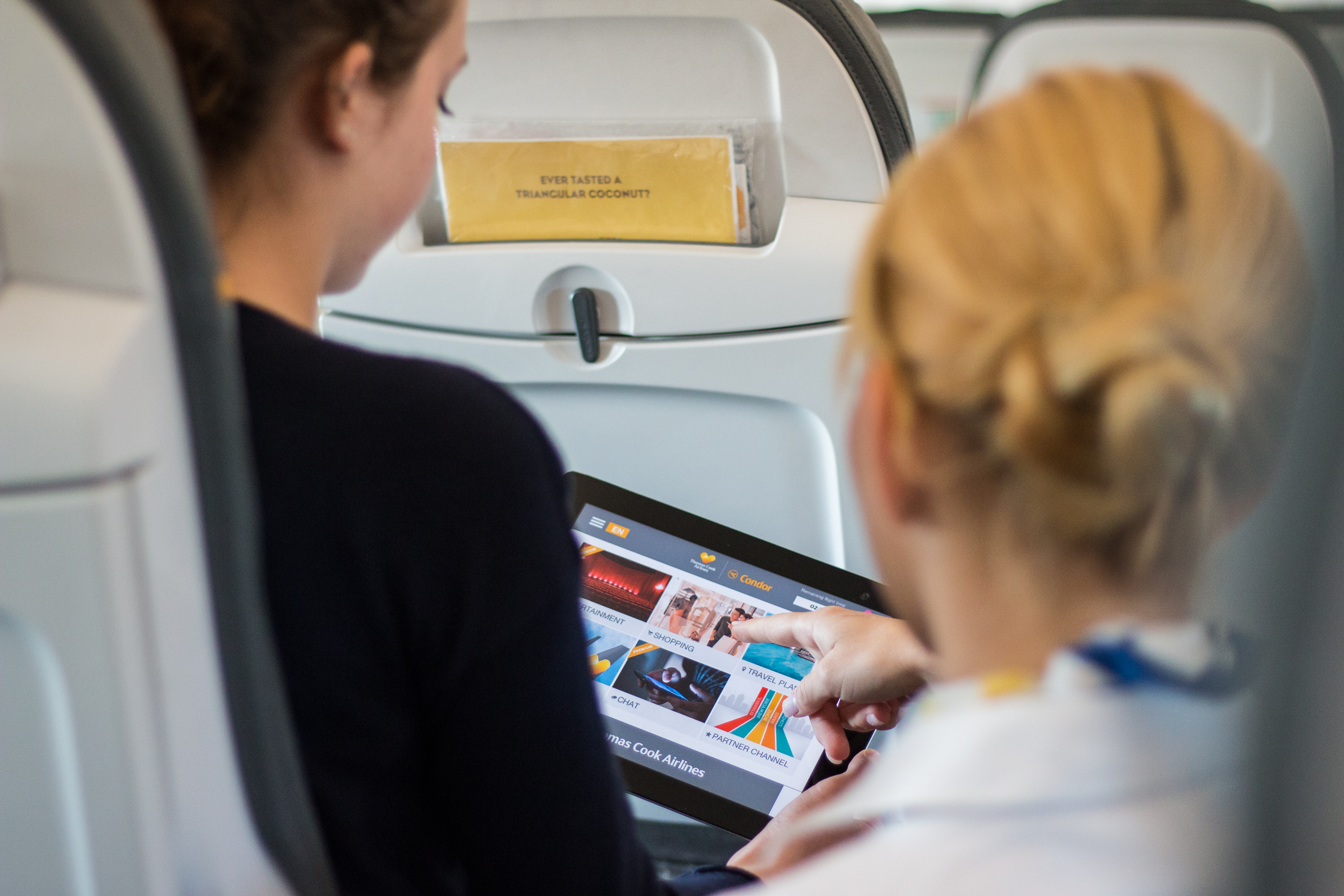 SunStream på Thomas Cook-fly (Foto: Thomas Cook Airlines)