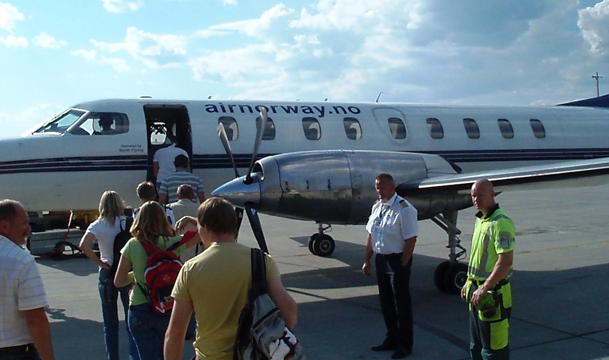 Air Norway – opereret af North Flying. (Arkivfoto: Air Norway)