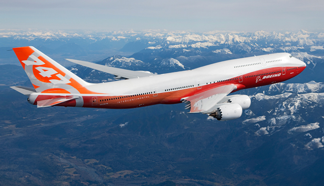 Boeing 747-8 (Foto: Boeing)