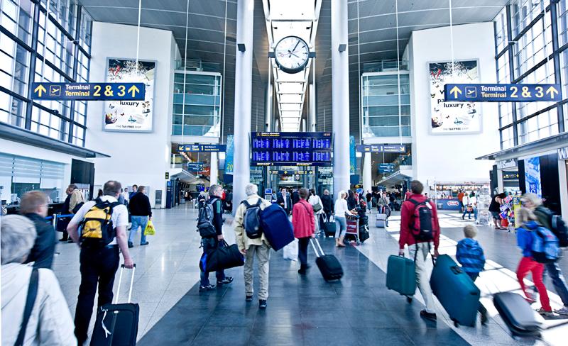 Indgangen til Terminal 3 i Københavns Lufthavn. (Foto: CPH)
