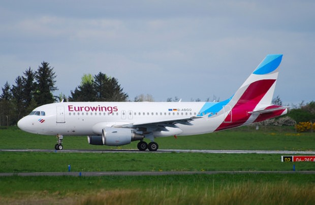 Airbus A319-100 fra Eurowings – D-ABGO.