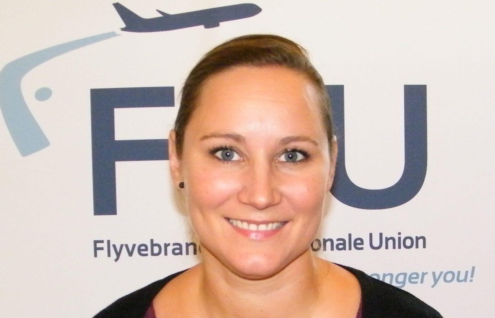 Thilde Waast, formand Flyvebranchens Personale Union (Foto: Henrik Baumgarten)