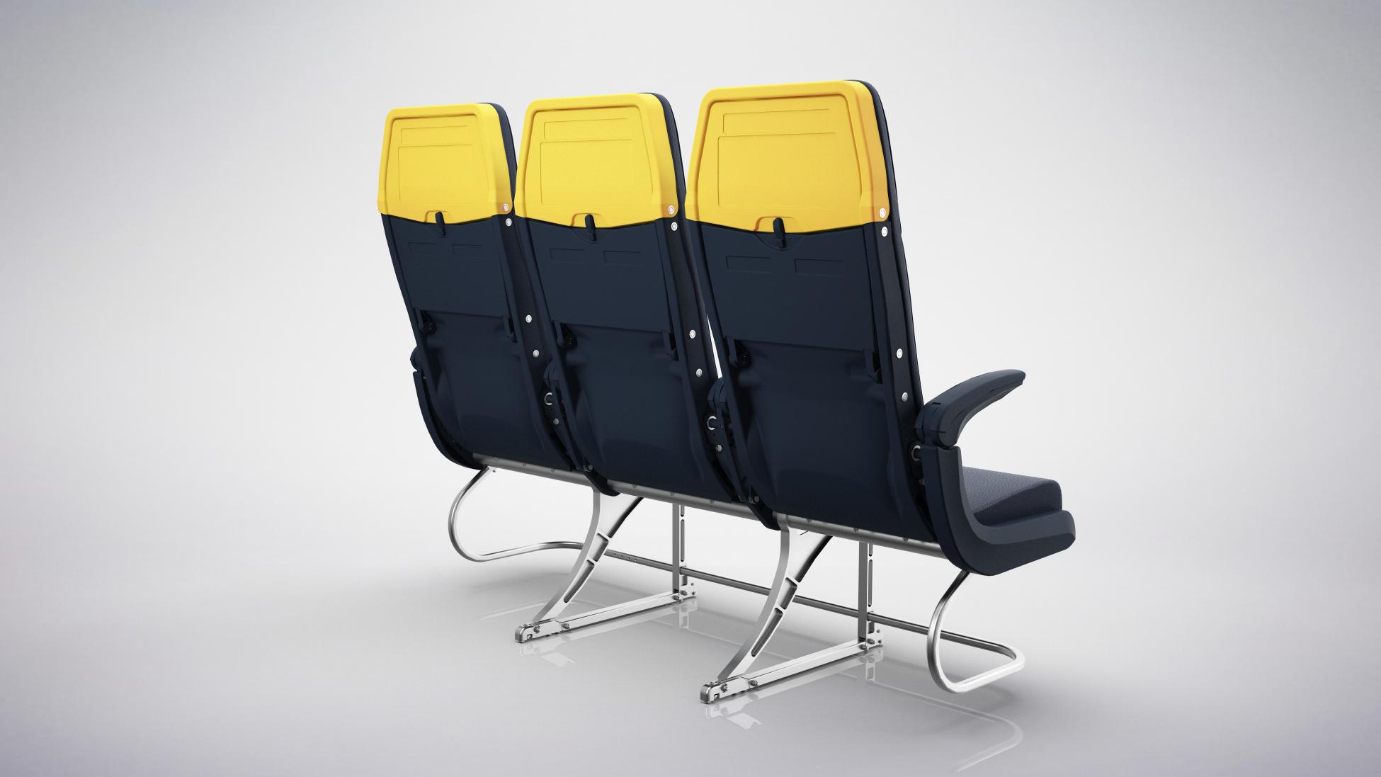 Zodiac Slimline-flysæder (Foto: Ryanair)