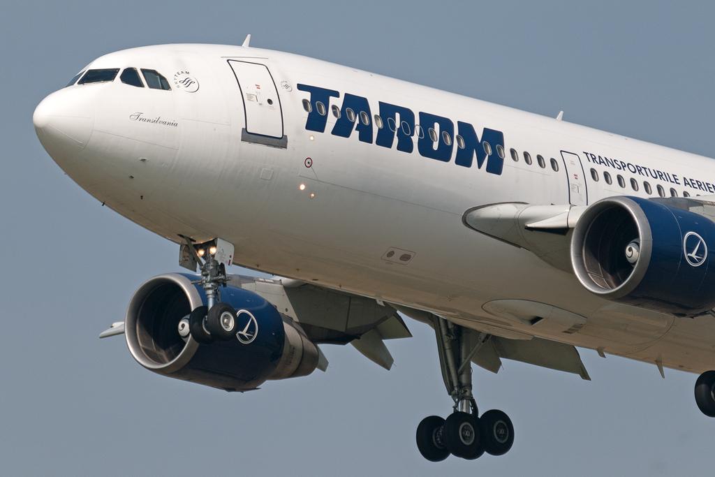 Tarom Airbus A310-300. (Foto: Pieter van Marion | Creative Commons 2.0)