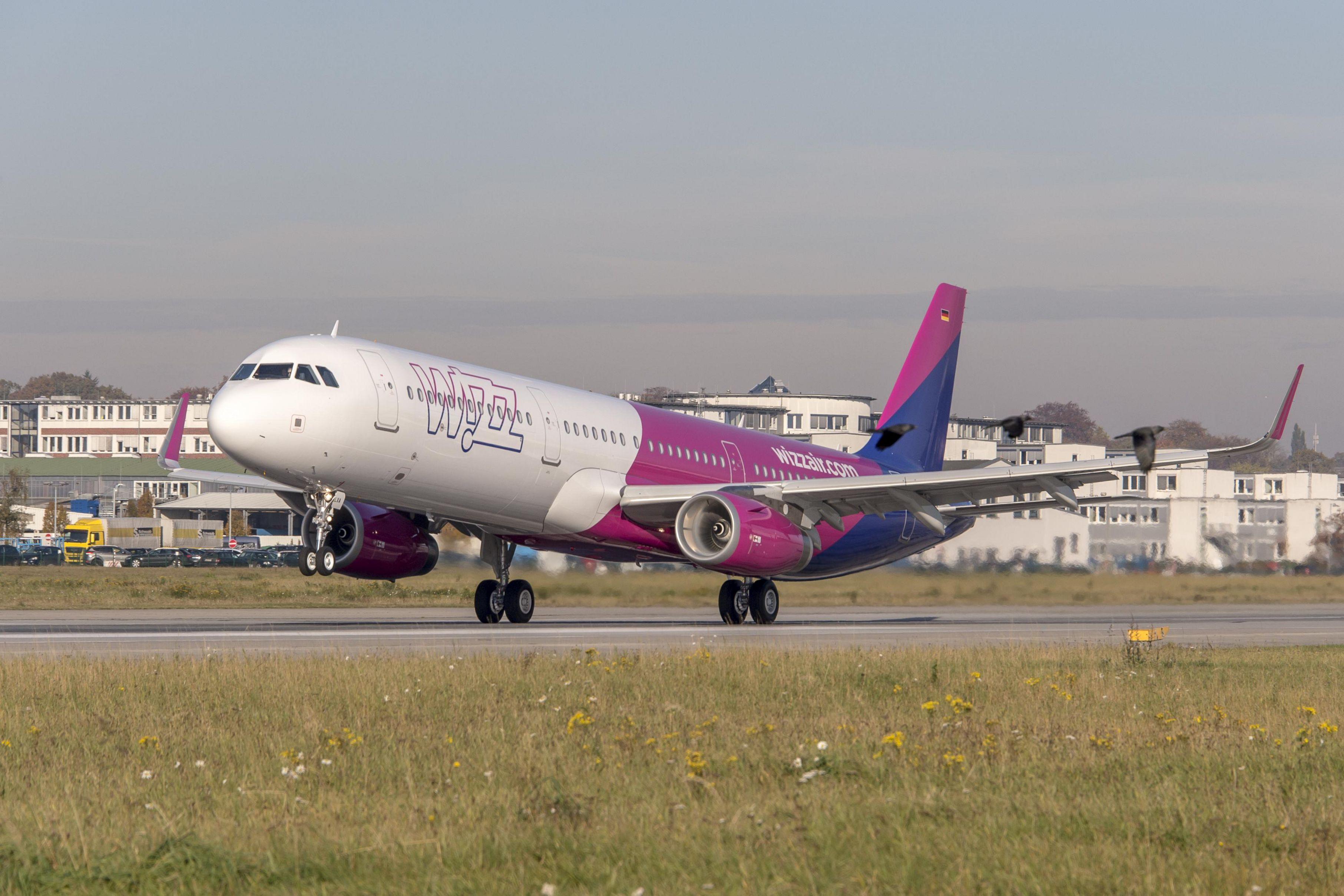 Airbus A321-200 fra Wizz Air (Foto: Airbus)