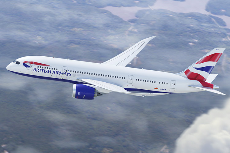British Airways Boeing 787-9 Dreamliner (Foto: British Airways)