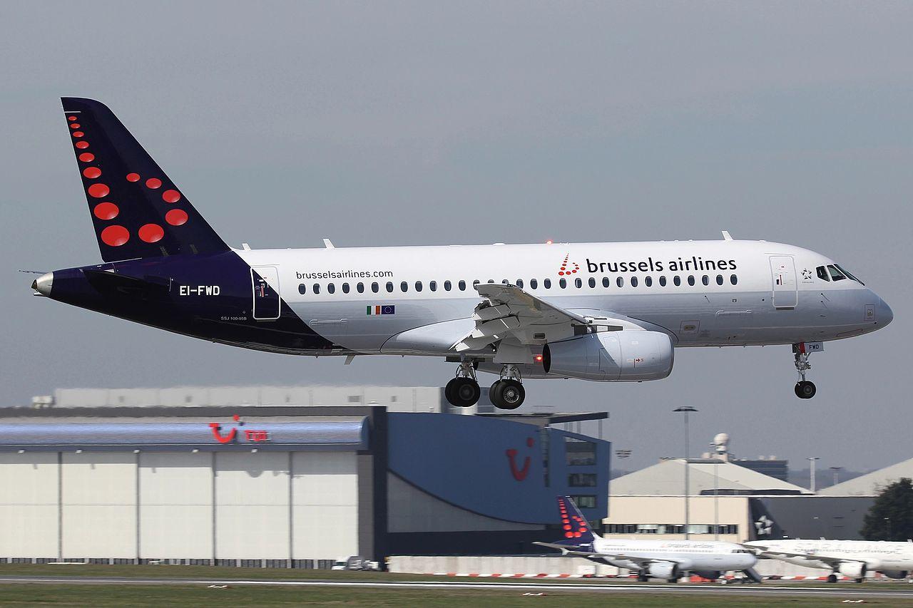 Brussels Airlines Sukhoi Superjet 100 SSJ100 (Foto: Ronald Vermeulen | Creative Commmons 4,0)